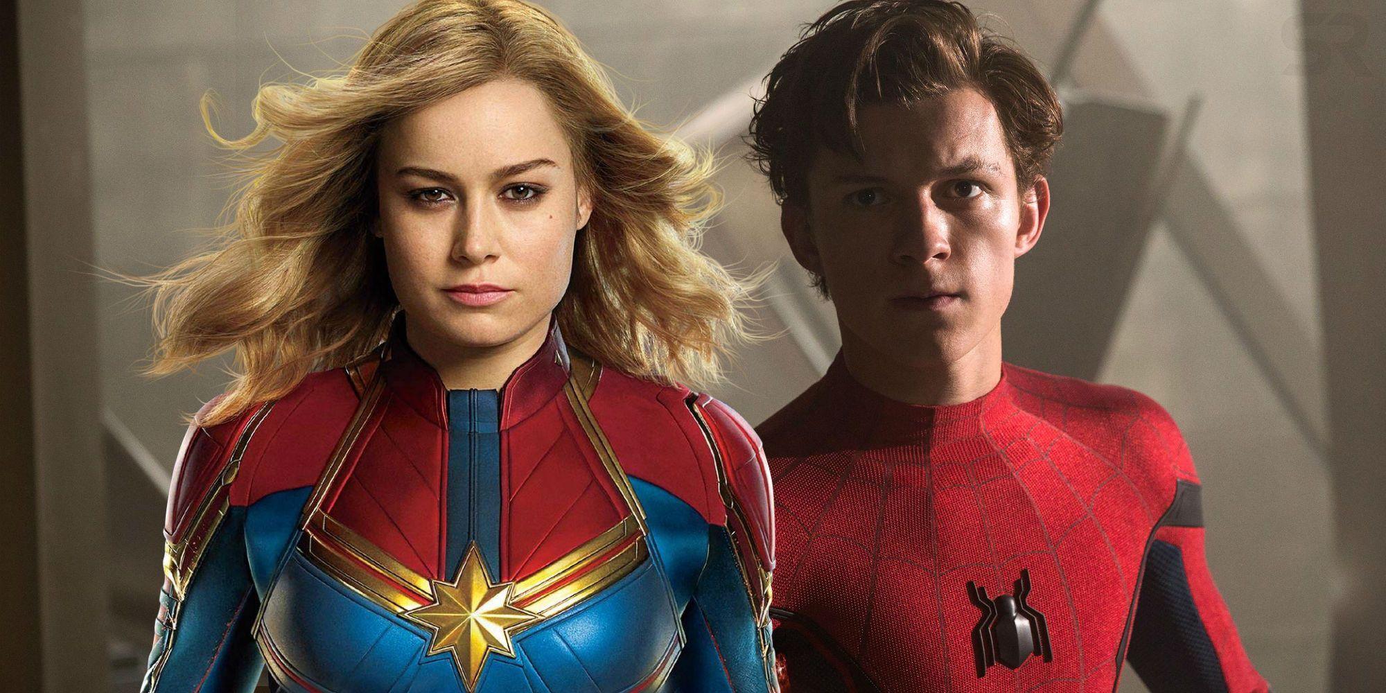Resultado de imagem para Captain marvel spider man