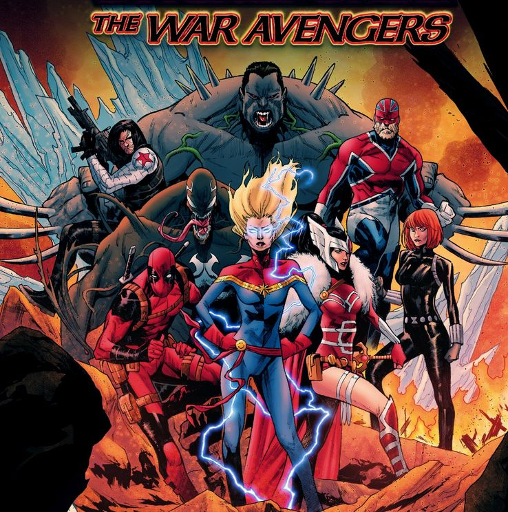 Marvel's WAR AVENGERS Should Be The MCU's New Team   ScreenRant
