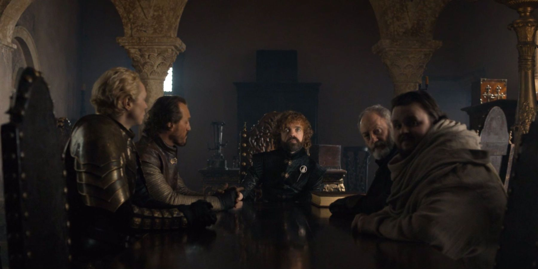 Image result for game of thrones finale small council