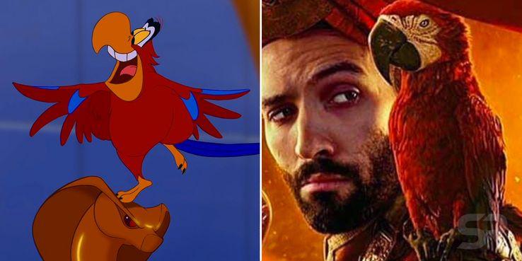 Aladdin 2019 Cast Compared To The Animated Movie Screen Rant