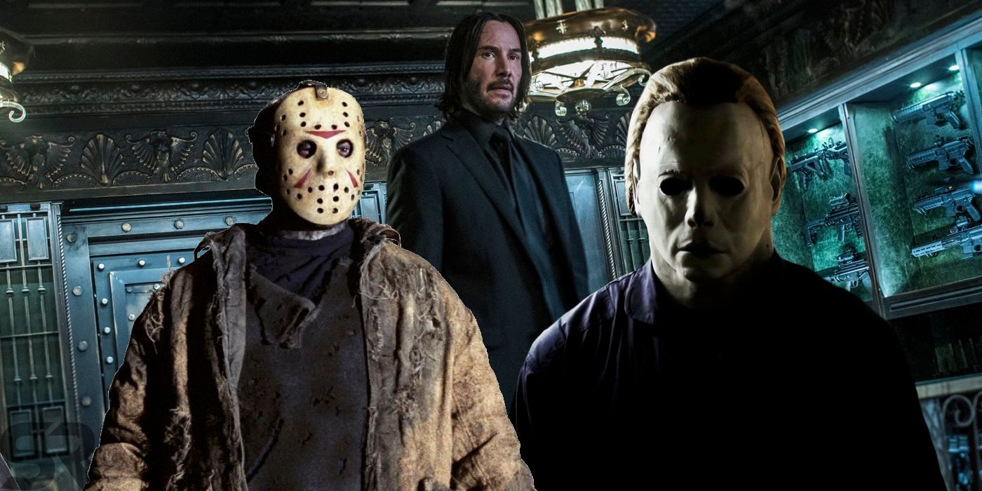 john wick kill count is higher than jason  u0026 michael myers