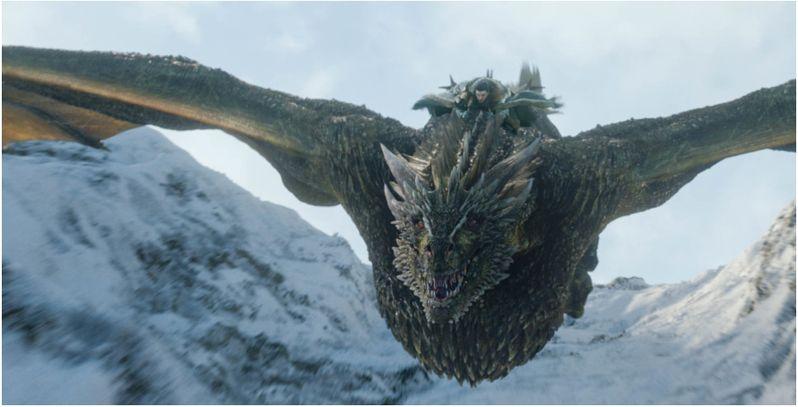 Почему дракон не убил Джона Сноу?
