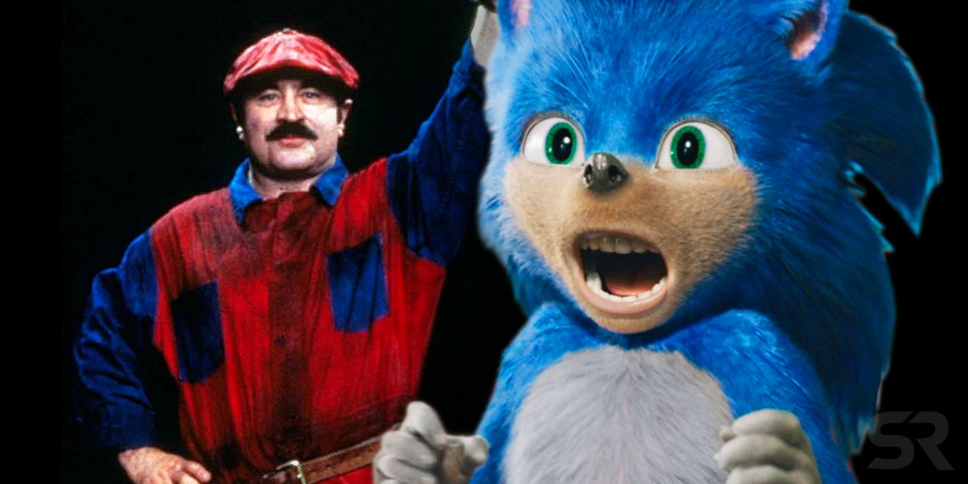 Sonic The Hedgehog Looks Like A Super Mario Bros Movie