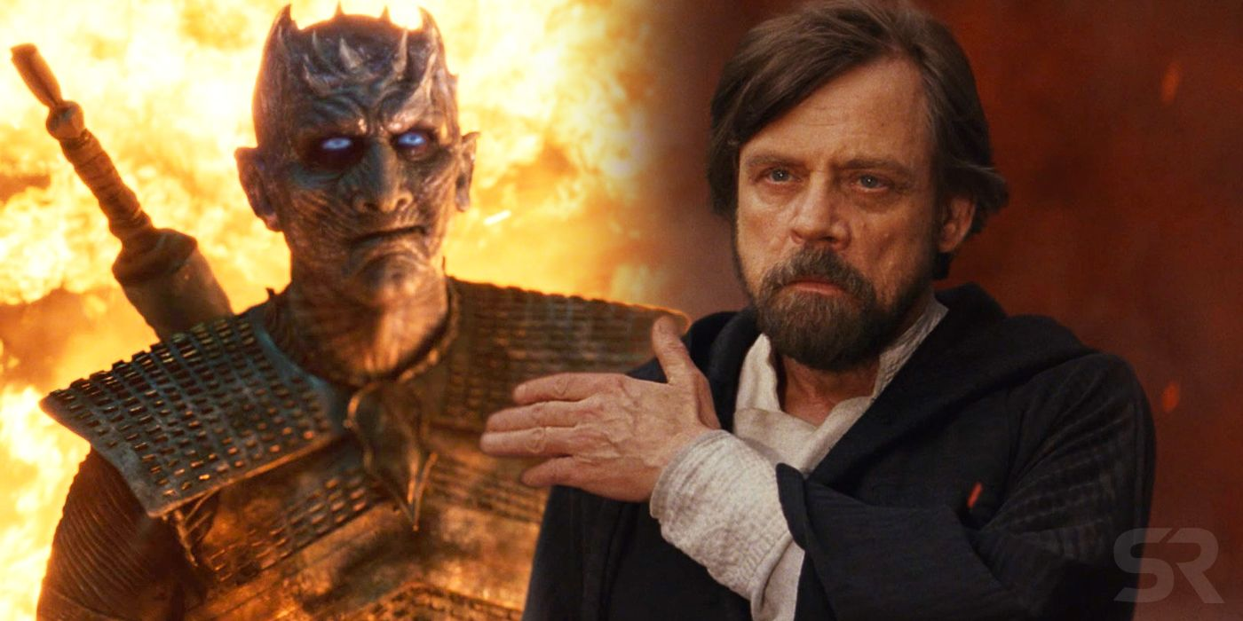 Game of Thrones Battle of Winterfell Has Some Weird Last Jedi Parallels