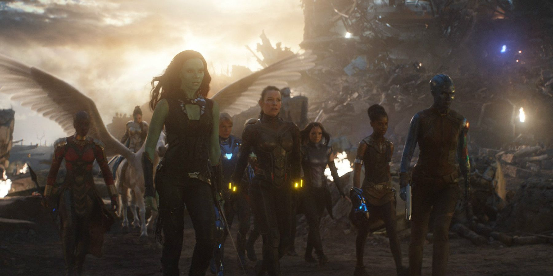 Endgame: Marvel's Female Heroes Reflect On A-Force Scene