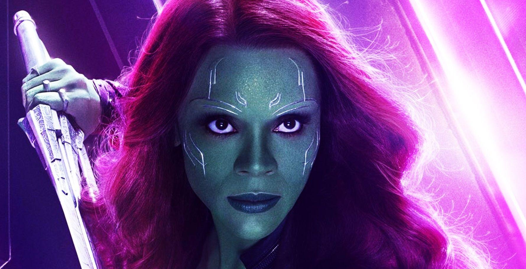 Revelan los diseños originales de Gamora para el MCU