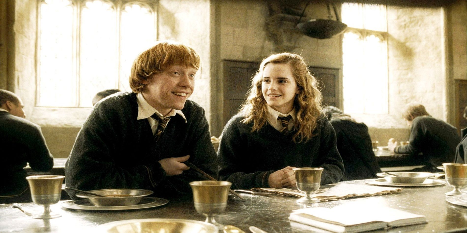 do ron and hermione dating in the half blood prince
