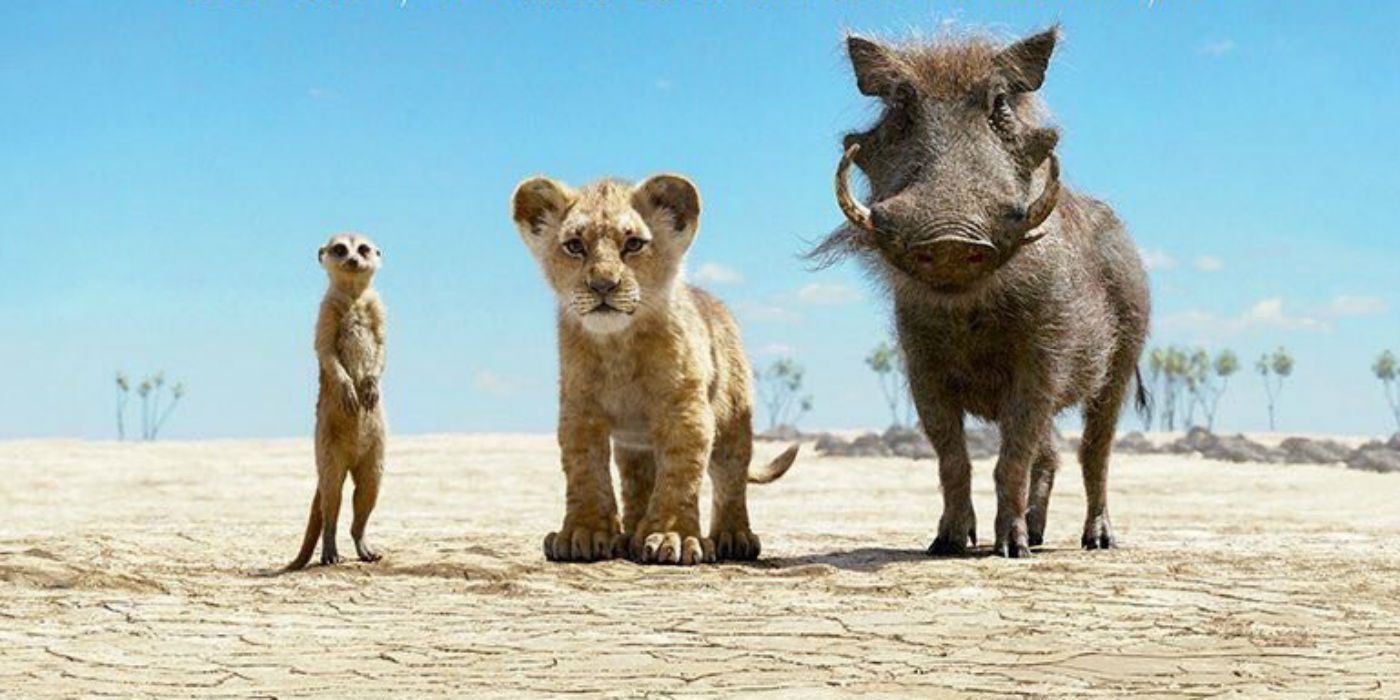 Lion King 2019 Movie Posters: New Lion King Poster With Simba, Timon & Pumba