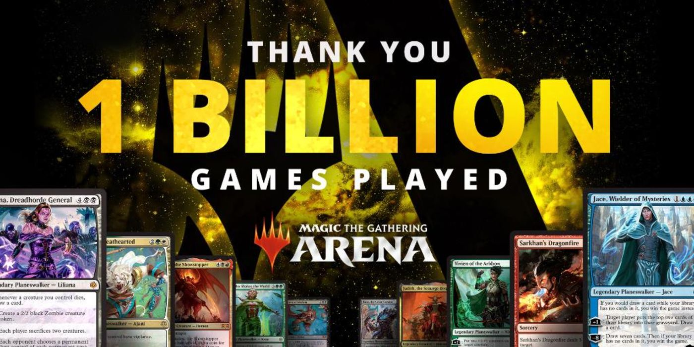 Magic Arena Has Been Played Over One Billion Times | Screen Rant