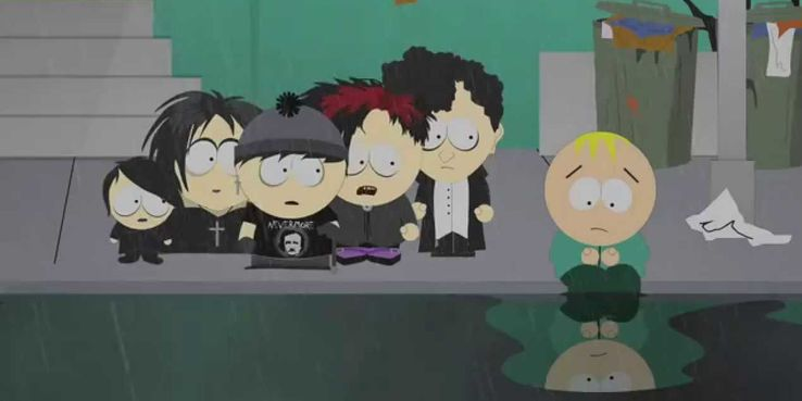 Butters south park vampire