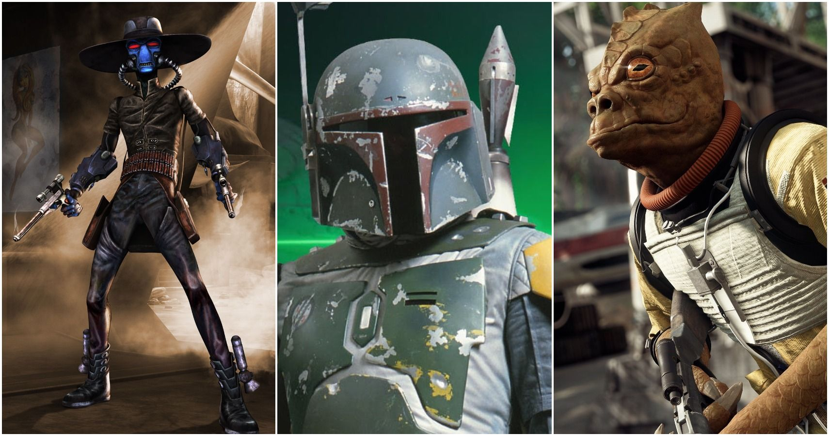 Star Wars Ranking The 10 Most Feared Bounty Hunters In The