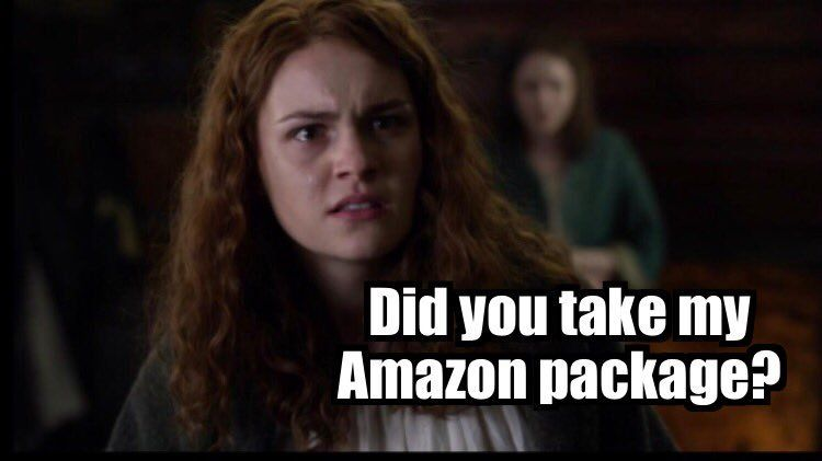 Tv And Movie News Outlander 10 Brianna Memes That Are Too