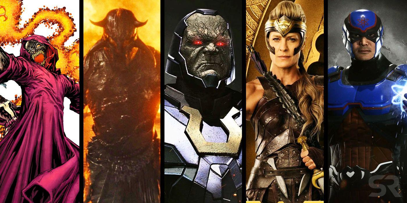 Justice League Snyder Cut Superman vs. Steppenwolf Battle Art Revealed