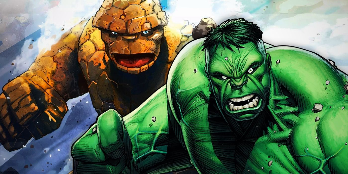 The Hulk Vs. Thing Rivalry Is Back With A Horror Twist