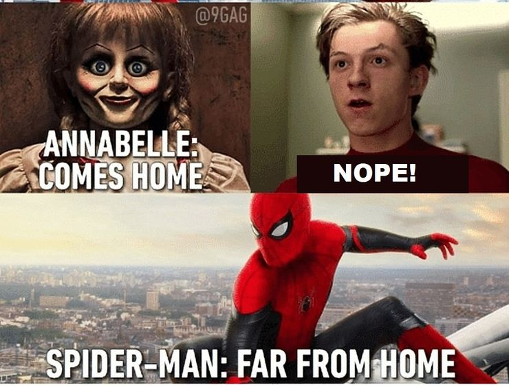 Spider Man Far From Home 10 Best Memes The Internet Has