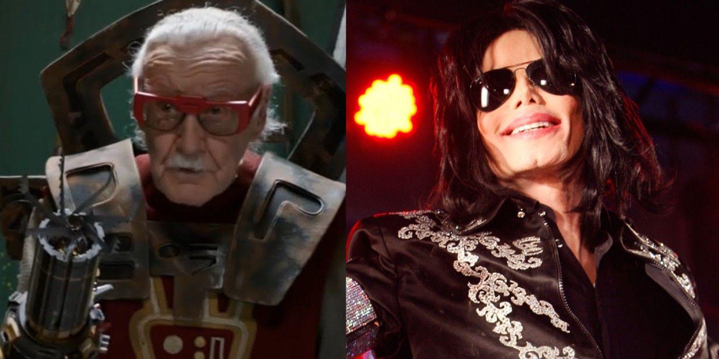 Stan Lee Michael Jackson Marvel
