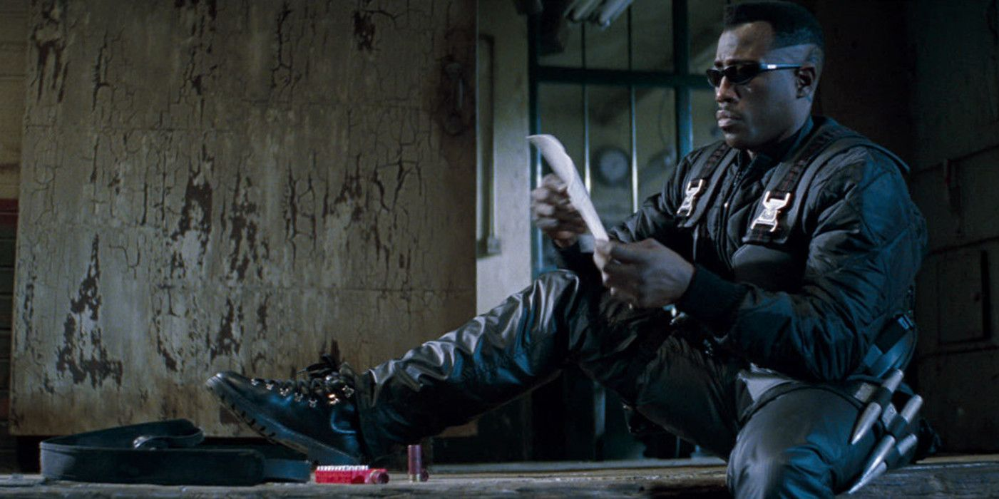 Wesley Snipes' Blade Movie Trilogy Coming To Hulu In October