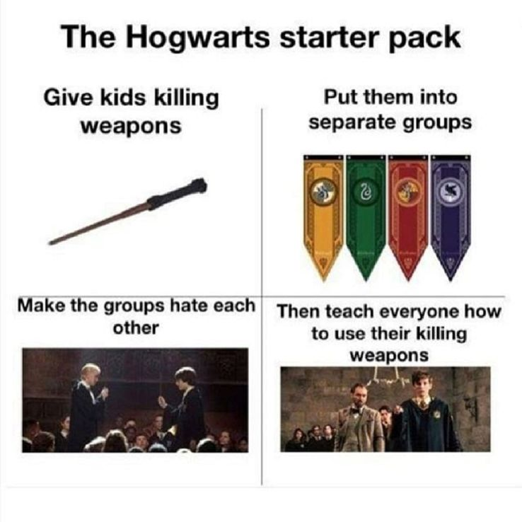 Harry Potter: 10 Ravenclaw Vs  Hufflepuff Memes That Are Too