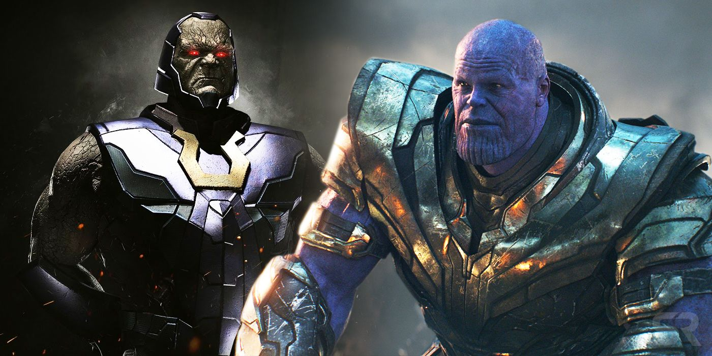 Who Would Win In A Fight Thanos Or Darkseid The Answer