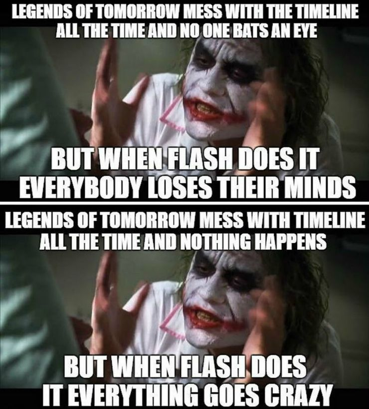The Flash 10 Time Travel Memes That Are Too Hilarious For Words