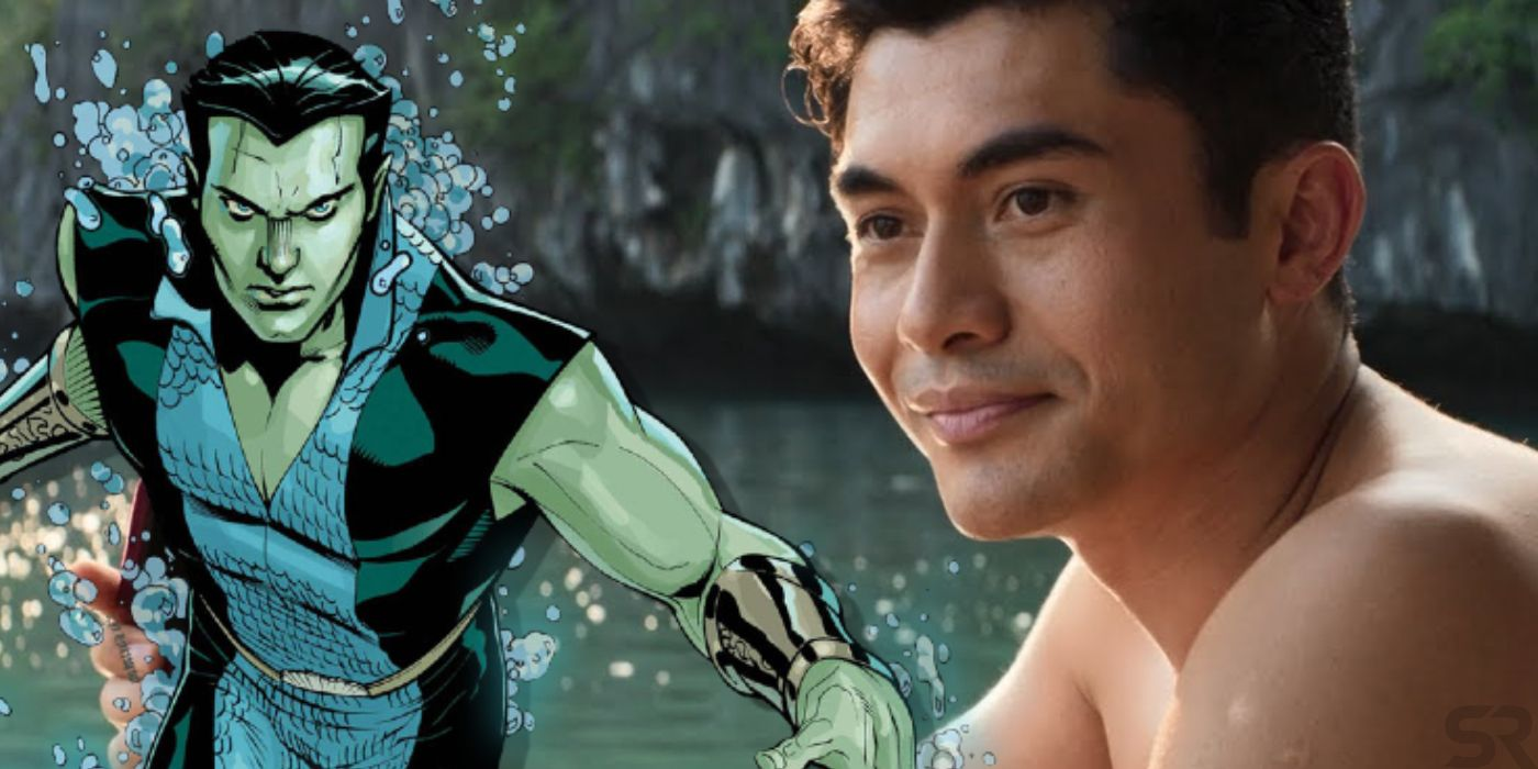 Black Panther 2: Henry Golding Hasn't Discussed Playing Namor