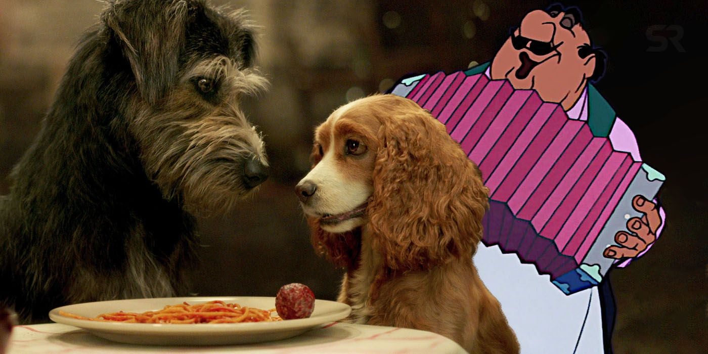 What Is The Song In The Lady The Tramp Trailer Screen Rant