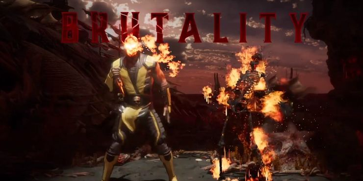 Mk11 Has A Sweet Scorpion Toasty Easter Egg Screen Rant