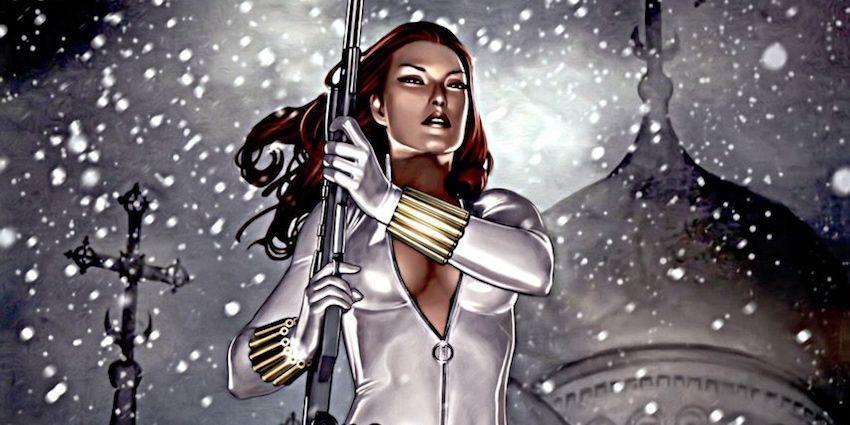 New Black Widow White Costume Revealed At Marvel Studios ...