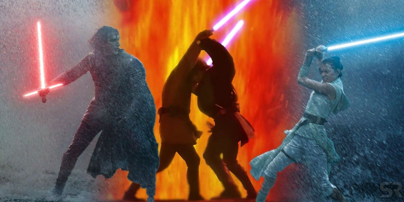 Rey Kylo S Star Wars 9 Fight Is The Inverse Of Anakin Vs Obi Wan