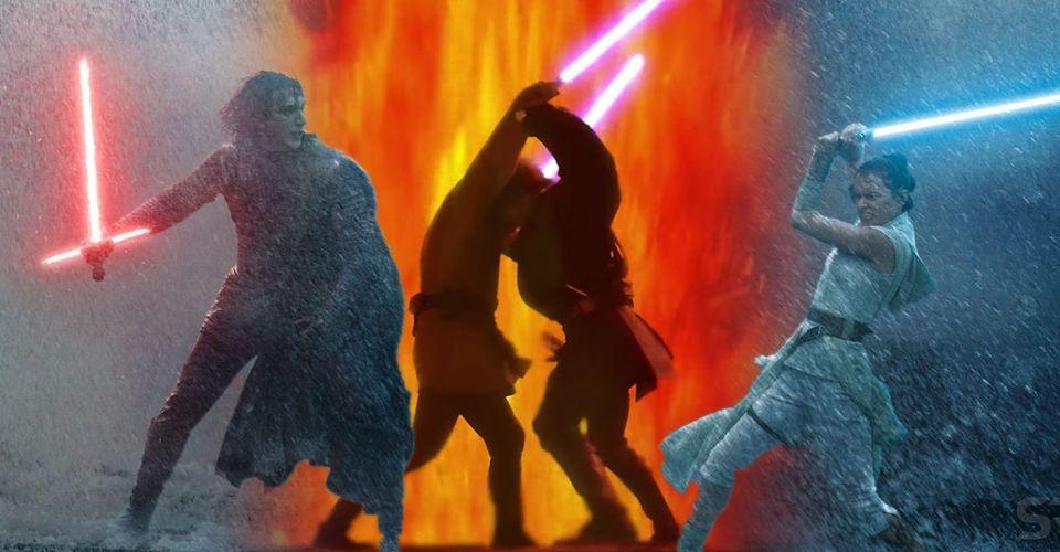Rey Kylo S Star Wars 9 Fight Is The Inverse Of Anakin Vs Obi Wan