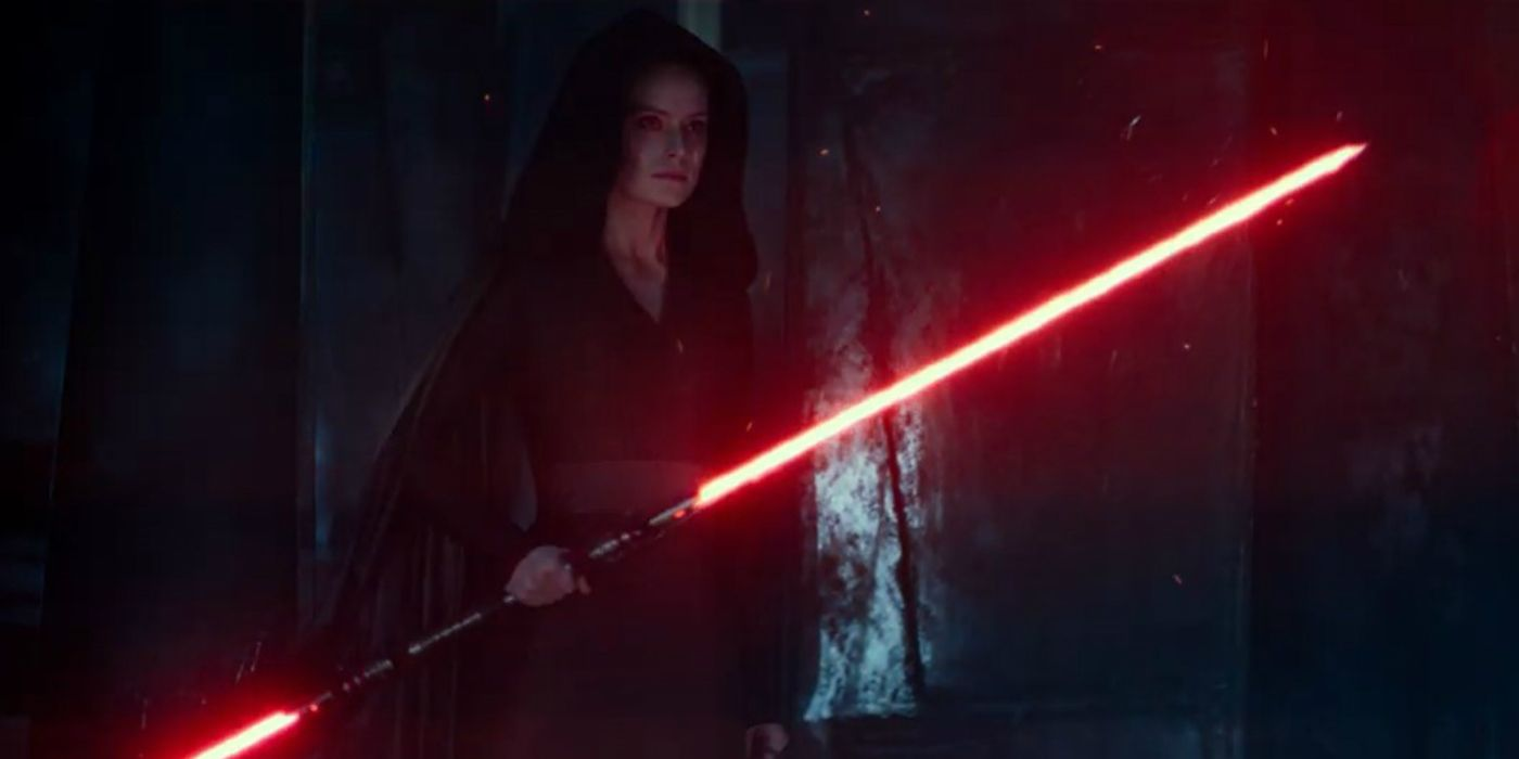 Star Wars Rey S Red Lightsaber Is More Practical As A