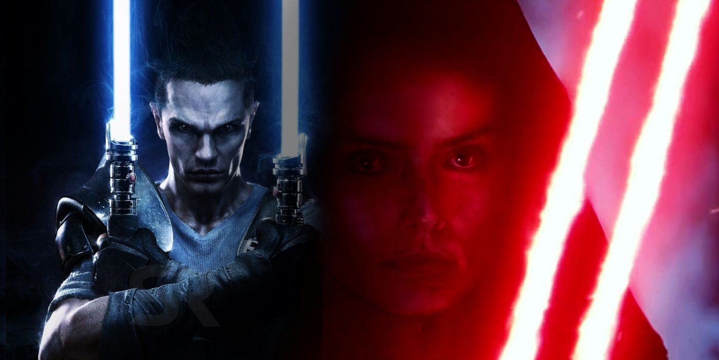 Star Wars: Rey's Double-Bladed Lightsaber Already Exists in