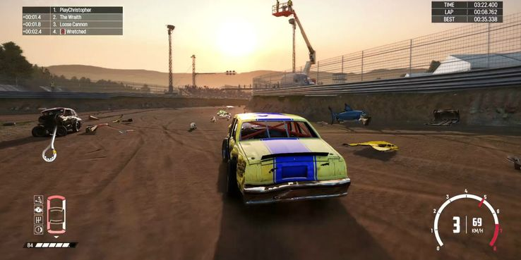 Wreckfest Console Version Review: A Smashing Good Time