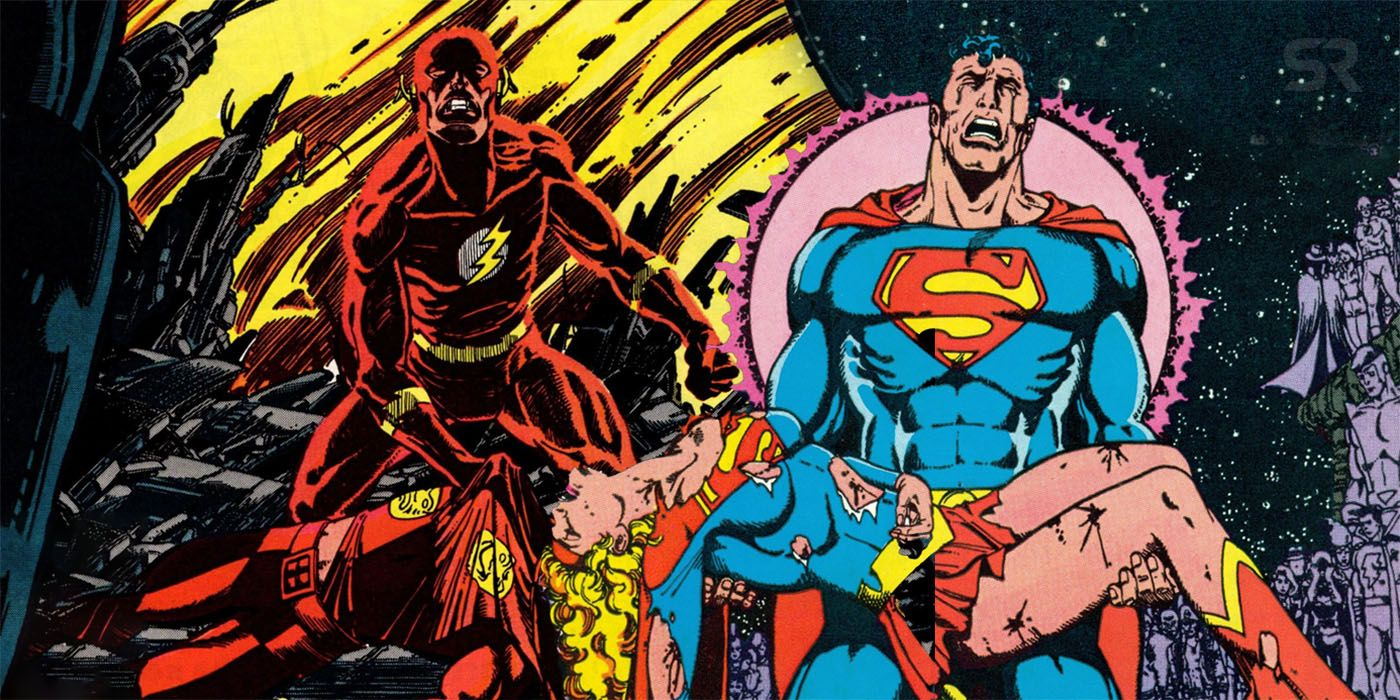 Crisis-on-Infinite-Earths-Flash-and-Superman the hype geek