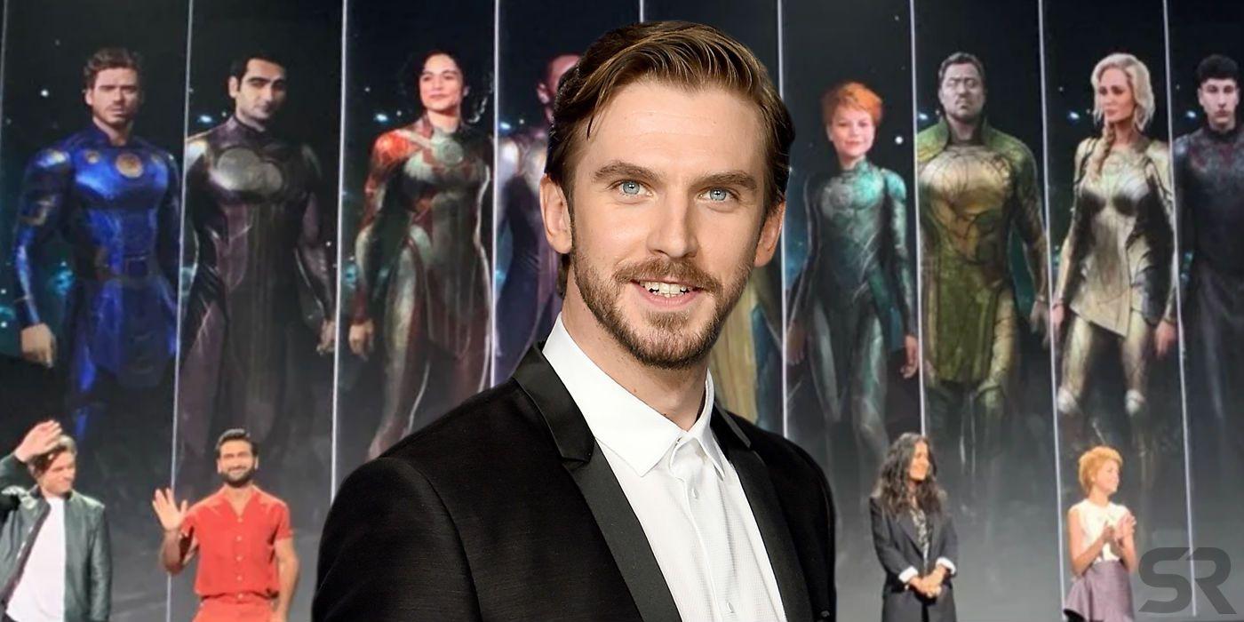 Marvel's Eternals Cast Photo Hints at a Role for Dan Stevens