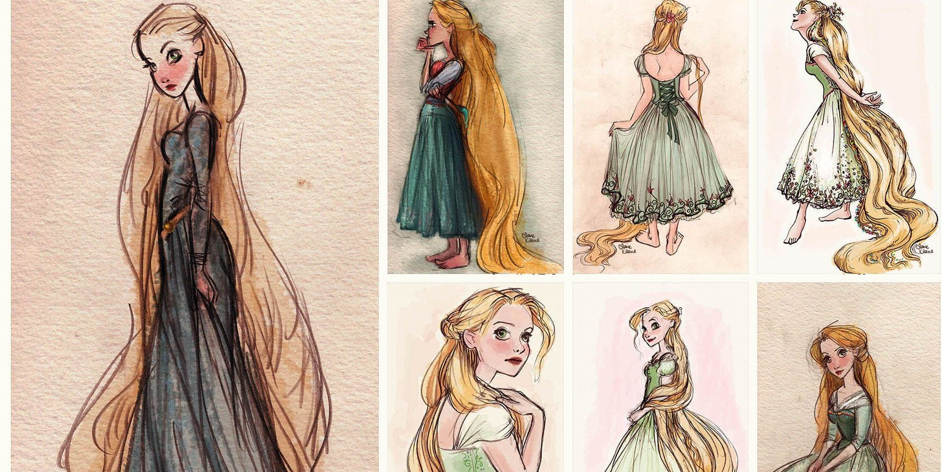 Disney 10 Official Concept Art Pictures Of Tangled You Have To See