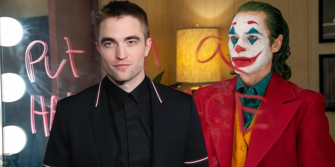 Batman Art Imagines Robert Pattinson In Joker Movie Style
