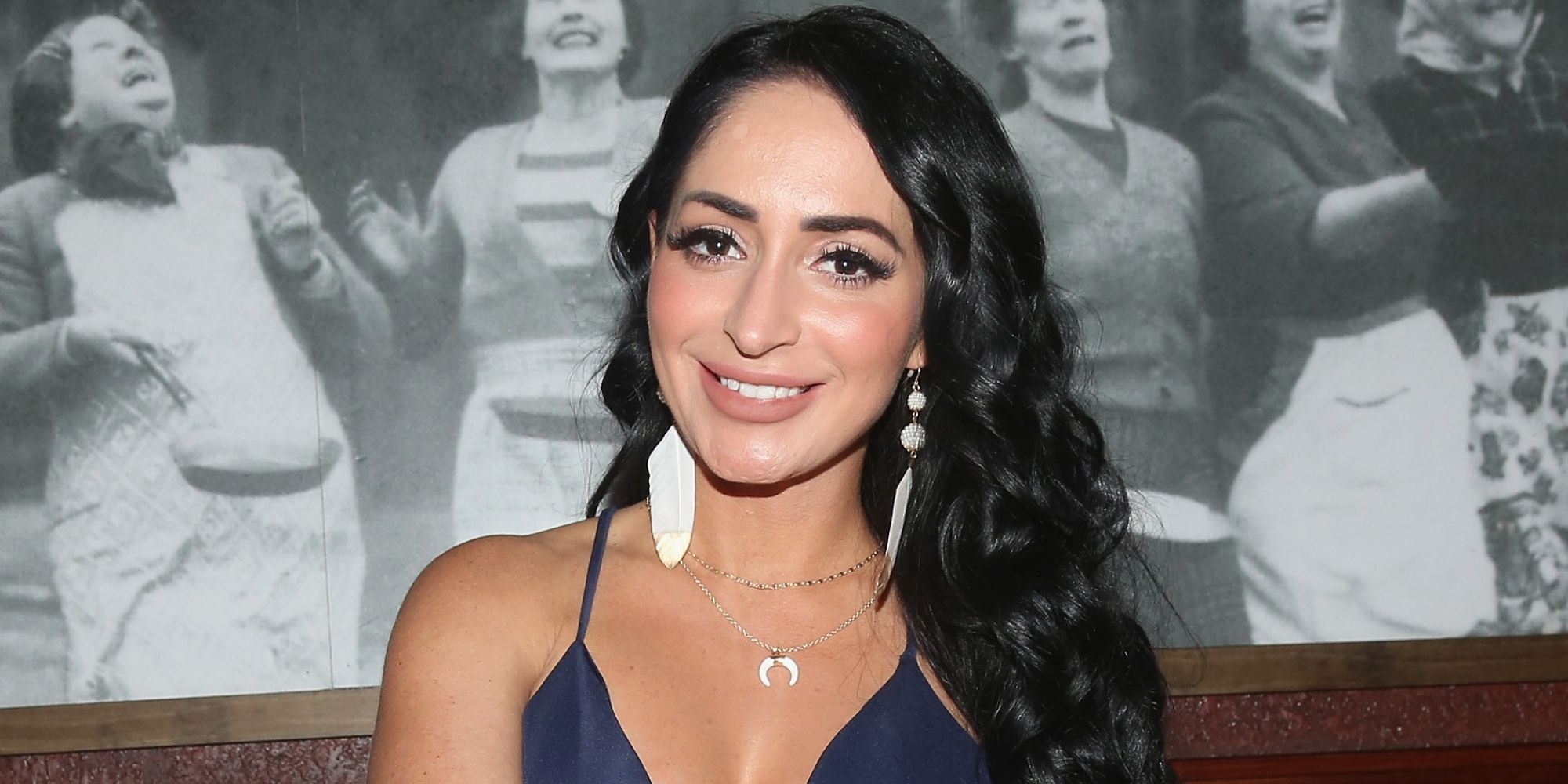 Angelina Jersey Shore Sexy how tall is angelina pivarnick