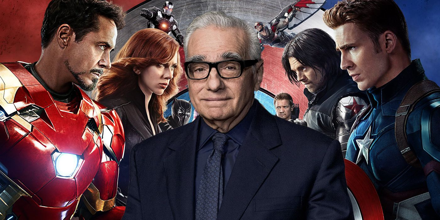 Image result for martin scorsese marvel