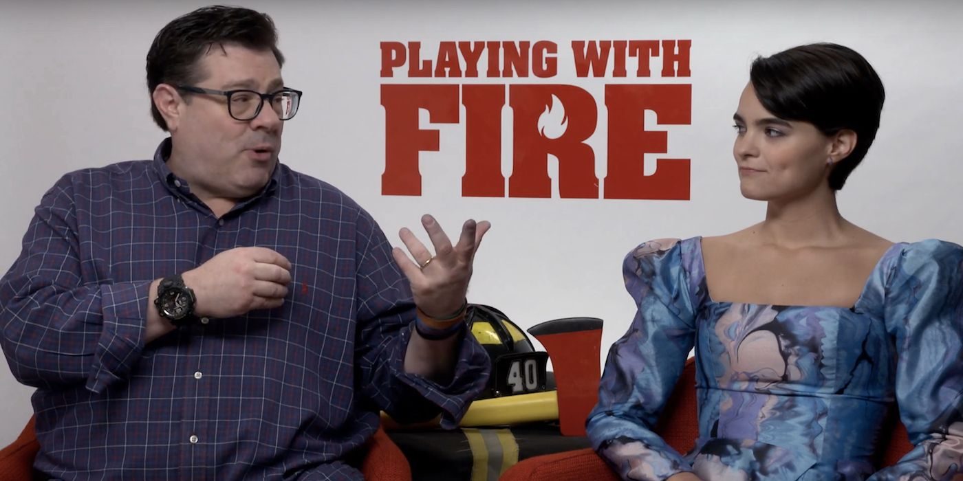 Andy Fickman And Brianna Hildebrand Interview Playing With Fire