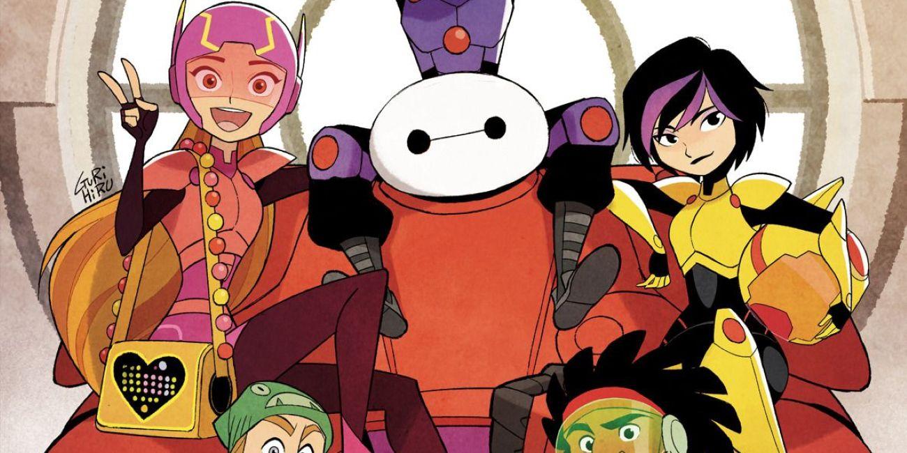 Big Hero Comic disney's big hero 6 sequel comic finally arrives! | screen rant