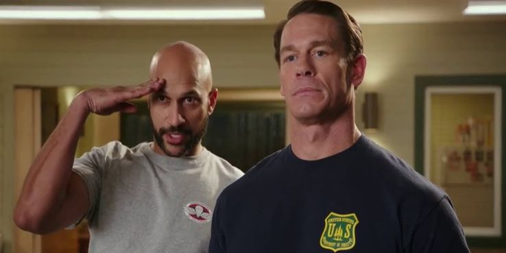 John Cena And Keegan Michael Key Interview Playing With Fire