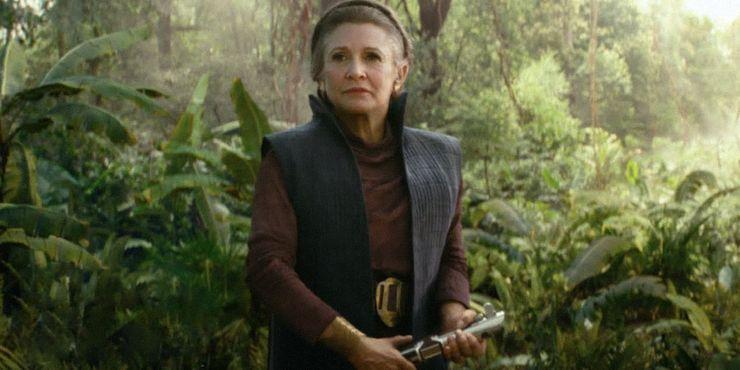 Image result for Leia rise of skywalker