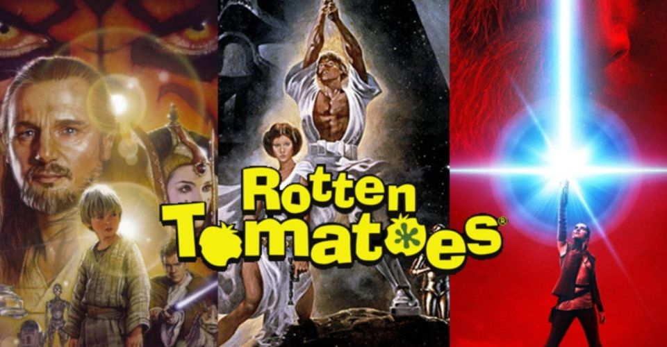 Star Wars All Movies Ranked According To Audience Score On Rotten Tomatoes