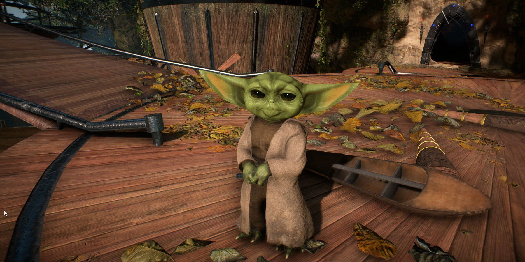 Baby Yoda Is Getting Modded Into Star Wars Battlefront 2