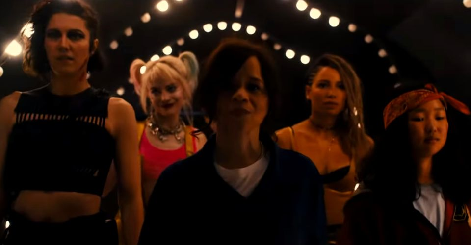 Birds Of Prey Game Awards Tv Spot Puts Harley Quinn In The Back
