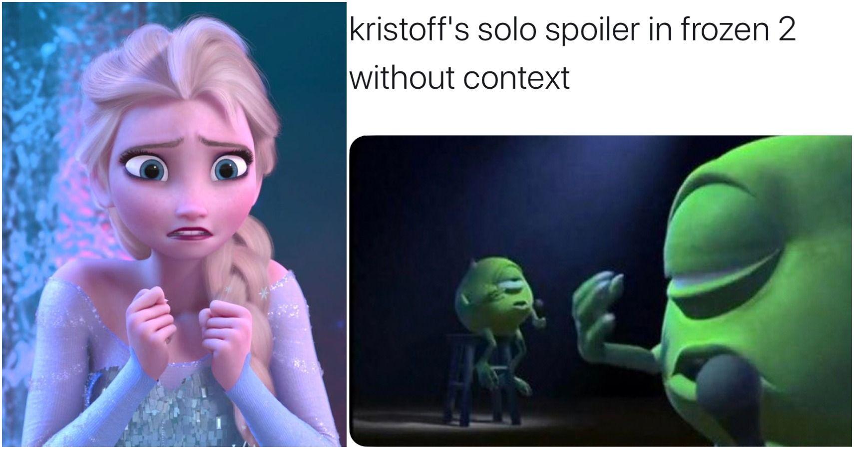 13 Hilarious Frozen 2 Memes Only Disney Fans Will Understand