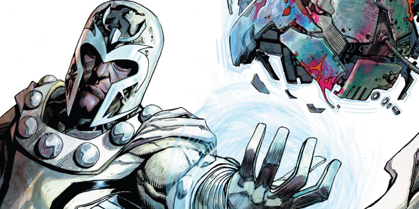 X-Men: Magneto repele uma invasão alienígena usando um [spoiler] 1