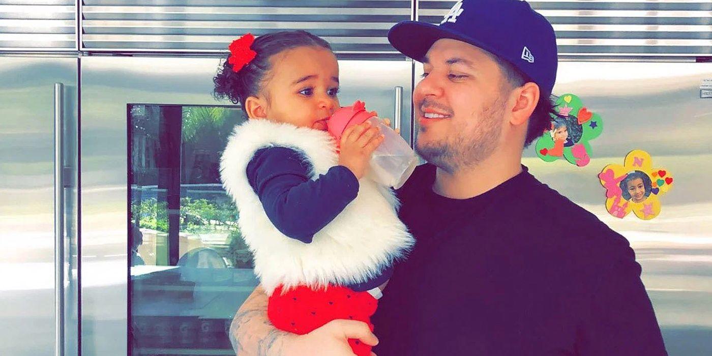 KUWTK: Rob Kardashian's Daughter Dream Wears His Childhood Shirt