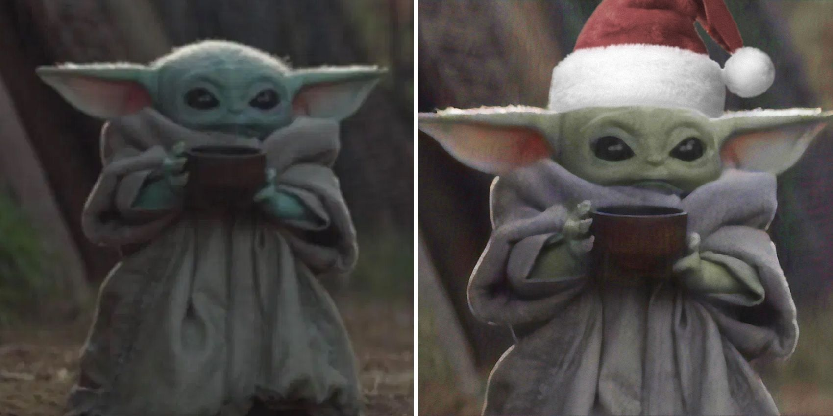 Star Wars The 10 Best Baby Yoda Sipping Tea Memes Screenrant